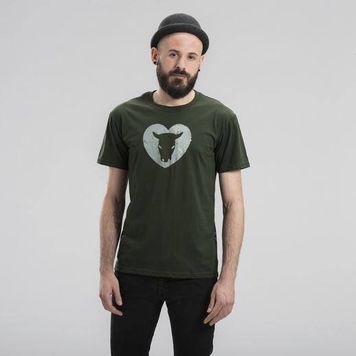T-Shirt Man Handcraft Verde Toret